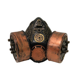 SOL Steampunk Respirator with Tubes & Gears