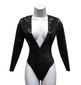 VEX Latex Plunge Bodysuit
