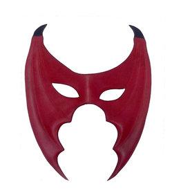 ETC Leather Devil Bat Mask