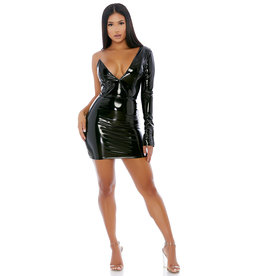 FOR My Good Side PVC Dress