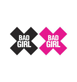 XGN Bad Girl Pasties  Black & Pink