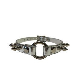 FPL 1/2 inch Choker with Spikes & O Ring  Vegan
