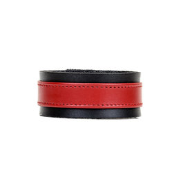 FPL Leather Cuff with Red Stripe Adjustable