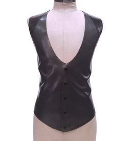 FF Two Tone Latex Waist Coat