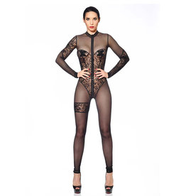 PC Miria Lace Sheer Catsuit