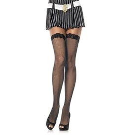 LGA Fishnet Thigh Hi Lace Top Stockings