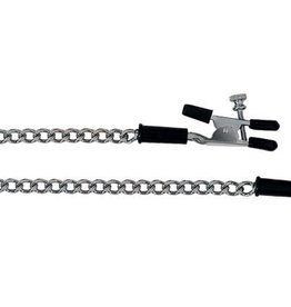 SPR Nipple Clamps With Chrome Curb Chain