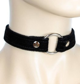 FPL Choker Velvet With  O-Ring