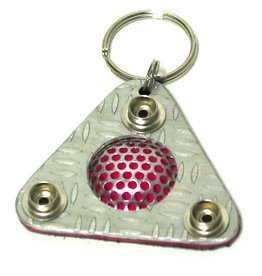 CLR Triangle Key Chain Uv Reflect