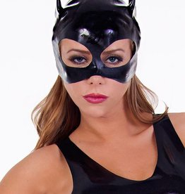 DEN Black Latex Cat Mask