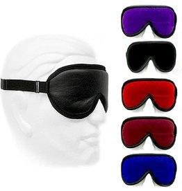KO Leather Blindfold with Velvet Lining