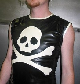 JDO Mens Top Skull X Bones Sleeveless