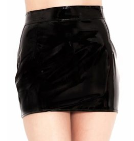 HON Barely There PVC Mini Skirt