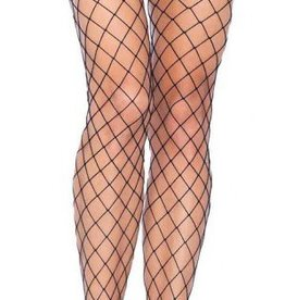LGA Fence Net Tights with Boy Short Lace Top