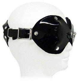 KO Leather Padded Blindfold