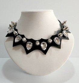 PRG Latex Diamond Teardrop Necklace