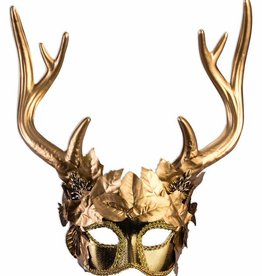 FN Mytical Creature Golden Faun Mask
