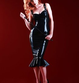 HON Valarie Latex Pencil Skirt