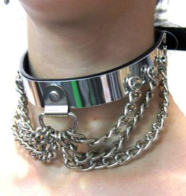 FPL Metal Plate Choker w/ Hang Chain