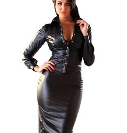 HON Leatherette Pencil Skirt