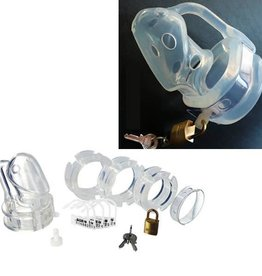 SMT Silicone Locking Cock Chastity
