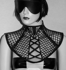 KVD Latex And Tulle  Bib Collar
