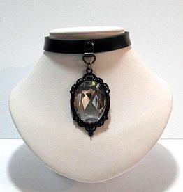 PRG Baroque Crystal Pendant Choker