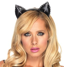 LGA Stitched Cat Ear Headband