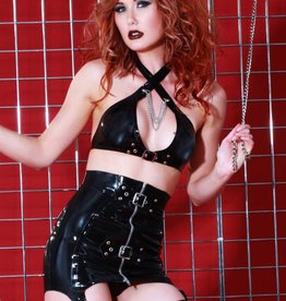 HON Fetisimo Latex Girdle Skirt