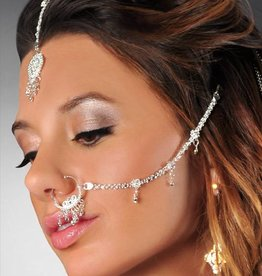 WF Hair And Nose Jewelry Set