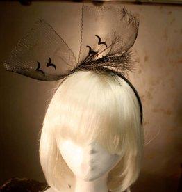 CLR Veil With Lace Design Headband