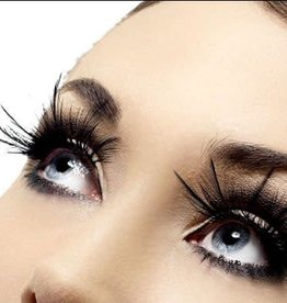 SMF Eyelashes With Feather Plumes