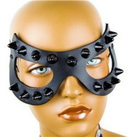 FPL Leather Studded Eye Mask