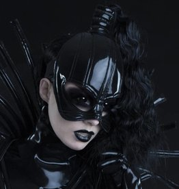 TW PVC Half Mask With Hair Opening