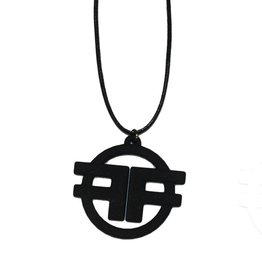 RW Ff Logo Necklace Cord 3D Laser Print