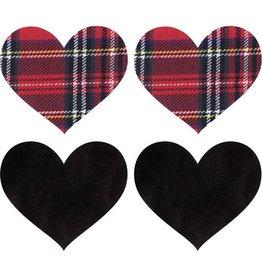 XGN School Girl Heart Pasties