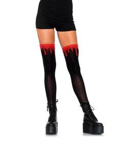 LGA Dripping Blood Knee Socks