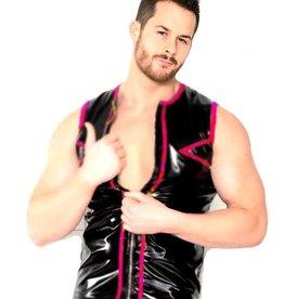 MOD Trimmed PVC Vest Top