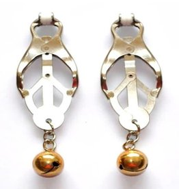 SMT Japanese Clover Nipple Clamps With  Bells