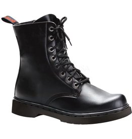 PLS 8 Eyelet Boot Vegan Leather