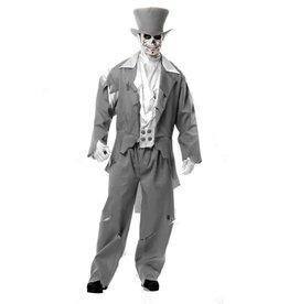 CLR Ghost Groom Coat Vest And Pants