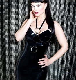 HON Devotion Exposure Latex Dress