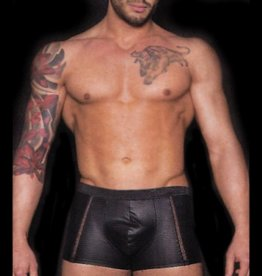 MOD Wetlook Boxer With Sheer Strips