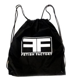 FF Fetish Factory  Logo Drawstring Bag