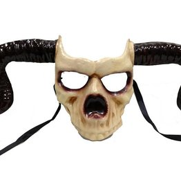 BP Pagan Horned Skull Mask