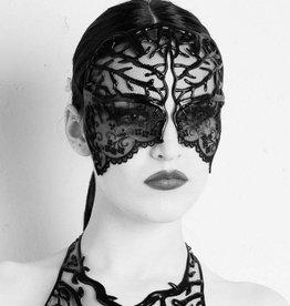 KVD Nina Latex And Tulle Mask