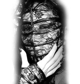 KVD Kiss Lace And Latex Full Face Hood