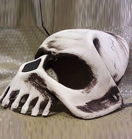 MAS Dead Head Skeleton Molded Leather Mask