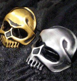 MAS Metal Head Skeleton Molded Leather Mask