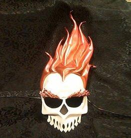 MAS Hellfire Skeleton Molded Leather Mask